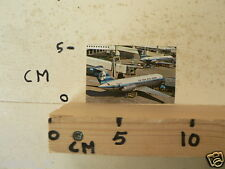 STICKER,DECAL KLM  ALBUMCARD 4=6 AIRPLANE