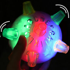 Baby Kids Classic Toy Jumping Flashing Light Up Bopper Vibrating Sound Ball US