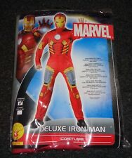 MARVEL Mens Iron Man Deluxe Costume Adult Fancy Dress CHEST 38/42 NEW