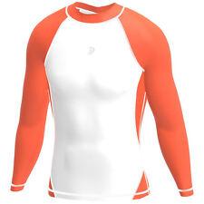 Abbigliamento da uomo arancione per palestra, fitness, corsa e yoga taglia L