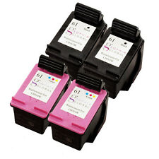 4 Pack Ink Cartridge for HP 61 Deskjet 1510 2540 2545 1010 1512 2510 3512 3510