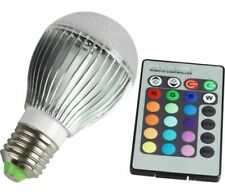 E27 10W RGB LED 16 Colors Changing Magic Light Bulb Lamp with IR Remote Control