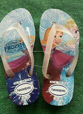 NEU@Gr 25-26@Havaianas@Frozen-Olaf@Zehentrenner Flip Flops Sandale Schlappe