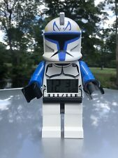 Lego STAR WARS Cone CAPTAIN REX Alarm Clock large figure #9003936, tested works