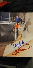 Tony Hawk and Steve-O Autographed Photo 8 x 10