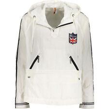 Genuine John Galliano Men's White Pullover Nylon Jacket Size Large