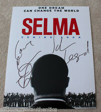 JOHN LEGEND & COMMON SIGNED 'SELMA' 11X14 MOVIE POSTER PHOTO B w/COA GLORY!