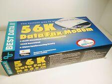 56K Data Fax Modem Smart One Series Macintosh External 56SMAC