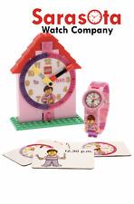 LEGO® Time Teacher Girl Kids Minifigure Link Watch & Constructible Clock Ages 6+