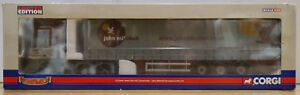 Corgi 1:50 CC13409 MAN TGA XXL Curtainside John Mitchell Ltd 567/2800 MIB MTXJM