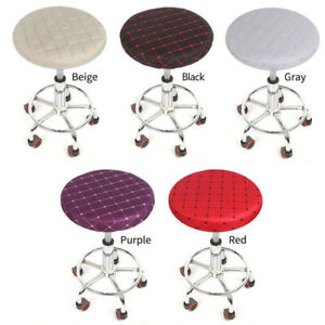 Bar Stool Chiar Round Cover Replacement Chair Seat Cushions Slipcover Protector