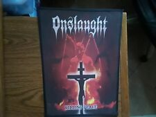 ONSLAUGHT,KILLING PEACE,SEW ON SUBLIMATED LARGE BACK PATCH