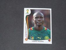 102 NGUEMO BORDEAUX CAMEROUN PANINI FOOTBALL FIFA WORLD CUP 2014 BRASIL