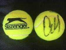 TENNIS: EKATERINA MAKAROVA SIGNED SLAZENGER TENNIS BALL+COA *WIMBLEDON*