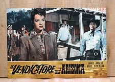 IL VENDICATORE DELL'ARIZONA poster fotobusta James Arness Dickinson Western G28