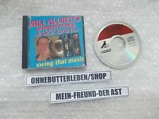 CD Jazz Bill Allred Goodtime Jazz Band - Swing That Music (12 Song) BIG BEAR