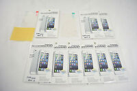 9 X Front+Back Screen Shield Protector Cover FULL BODY For APPLE iPhone 4 4S