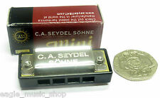 Miniture Harmonica - Seydel Mini in 'C' - 4 hole 8 Notes Great Gift Comes Boxed