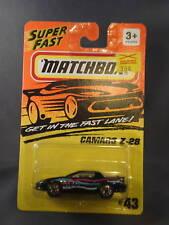 1993 Matchbox Camaro Z28 #43 Gold Hubs
