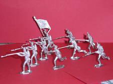 Zinnbrigade  Zinnfiguren  Franz. Linieninfanterie 10tlg