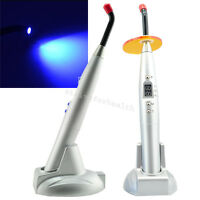 Silver 2019 new Cordless Dental 10W Cordless Blue LED Curing Light Lamp 2000mw