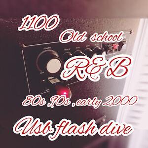 New 8gb  usb flash drive +++1100 Old School R&b .. MP3 Music To Go