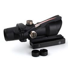 Terminus Optics Scopes Toc1 Scope Red Dot Black Color Forged Aluminum ACOG Style