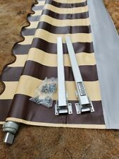 DOMETIC 54 INCH RV WINDOW AWNING.BROWN/TAN COLOR.