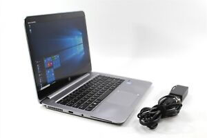 "14"" 2K HP EliteBook Folio 1040 G3 Touch i5-6300U 2.4GHz 128GB SSD 8GB RAM W10P"