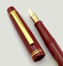 Pilot 78G Fountain Pen - Red, BB Italic Stub Nib, w Converter (New, Japan)