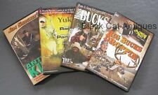 Lot of 4 DVD Hunting Videos Big Bucks Hoss Bucks Antler Kings Yukon 7 Rack Man