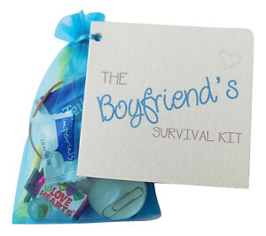 Boyfriend Gift,Valentines survival kit, anniversary..Just because.birthday Gift