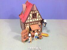 (O3441.3) playmobil boulangerie médiévale ref 3441 année 77 - 81
