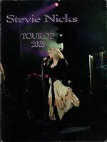 STEVIE NICKS 2005 GOLD DUST TOUR CONCERT PROGRAM BOOK BOOK;ET / VG 2 NEAR MINT