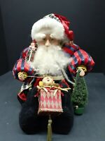 Vintage Mark Roberts Collection Santa Claus Doll Department 56