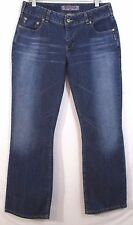 Silver Jeans Misses Size 33 Low Rise Boot Dark Denim Inseam 30.5