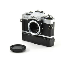 Minolta XG-1 SLR Film Camera w/ Minolta Auto Winder G For Minolta MD Mount!