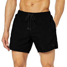 Boxer costume da bagno uomo pantaloncino mare piscina nero   EMPORIO ARMANI