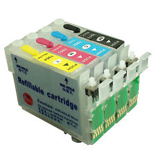 NON-OEM Refillable Ink Cartridge kit for EPSON XP204 XP101 XP201 XP401 XP411 196