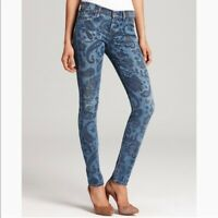 COH Citizens of Humanity Avedon Low Rise Skinny Paisley Print Jean - Size 28