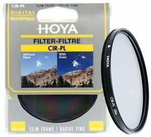 Hoya 55mm Circular Polarizing Lens Filter C-PL Cir Pol CPL C PL - New UK Seller