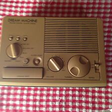 Sony Dream Machine #ICF-C3W Clock Radio Beige Woodgrain & Works Great! AM/FM