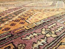 Special Samarkand - 1900s Antique Khotan Rug - Oriental Carpet - 5 x 8.4 ft.