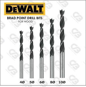 DeWALT Brad Point Wood Drill Bits 4,5,6,8 & 10mm DT4535