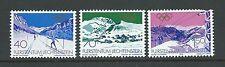 Olympics Liechtenstein Stamps