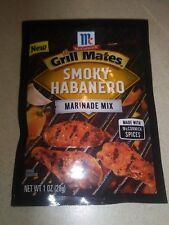 McCormick Grill Mates Smoky Habanero marinade mix 1 oz. ( 1 packs )