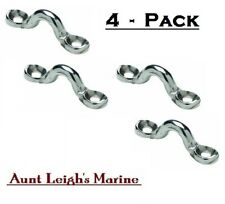 4-Pack (4) SeaChoice Forged Stainless Steel Eye Straps Hardware Bimini Top 28811