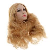 """1:6 Lady Model Head Sculpt 10cm Hair for Phicen Kumik CY CG 12"""" Figures"""