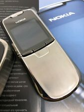Nokia 8800 Silver  (Unlocked) Mobile Phone original NEW