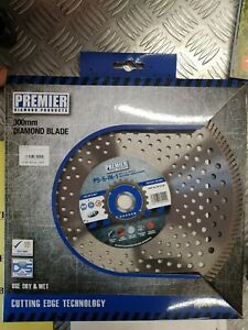 Premier P5-5IN1 300mm Diamond Cutting Disc DP16148 (Steel and concrete)